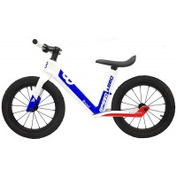 "Bike8 - Aero - 14"" (White / Blue / Red)"