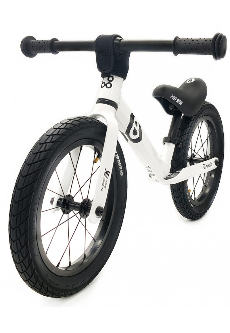 "Беговел - Bike8 - Racing  14"" - AIR (White)"
