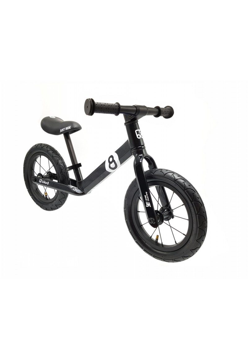 Беговел - Bike8 - Racing - AIR (Black)