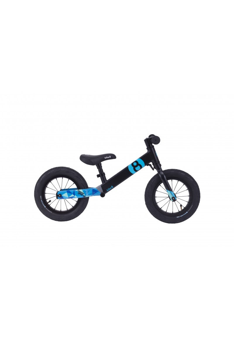 Беговел - Bike8 - Suspension - Standart (Black-Blue)
