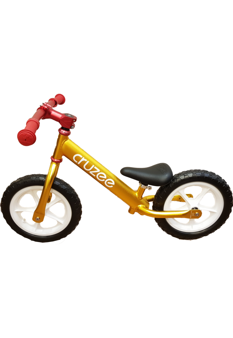 Cruzee UltraLite Balance Bike (Gold) Рулевая от Jet-Cat