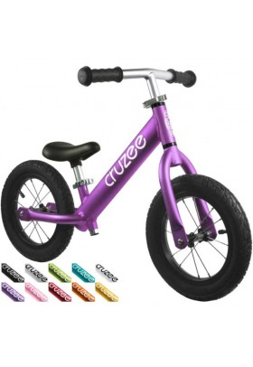 Cruzee UltraLite Air Balance Bike (Purple)