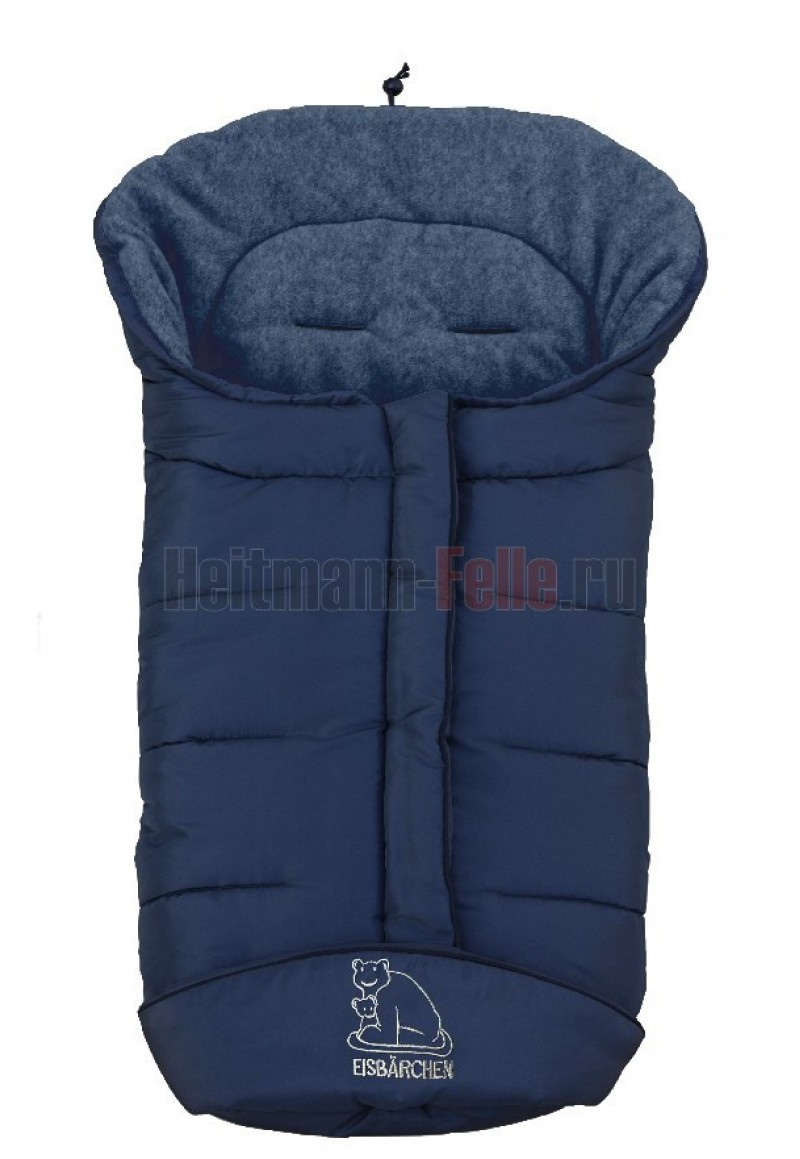 Конверт heitmann felle winter флис navy blue тёмно-синий (7965 mm)