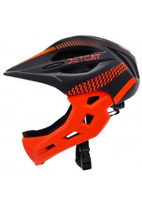 Шлем FullFace - Start (Black/Red) -  JetCat