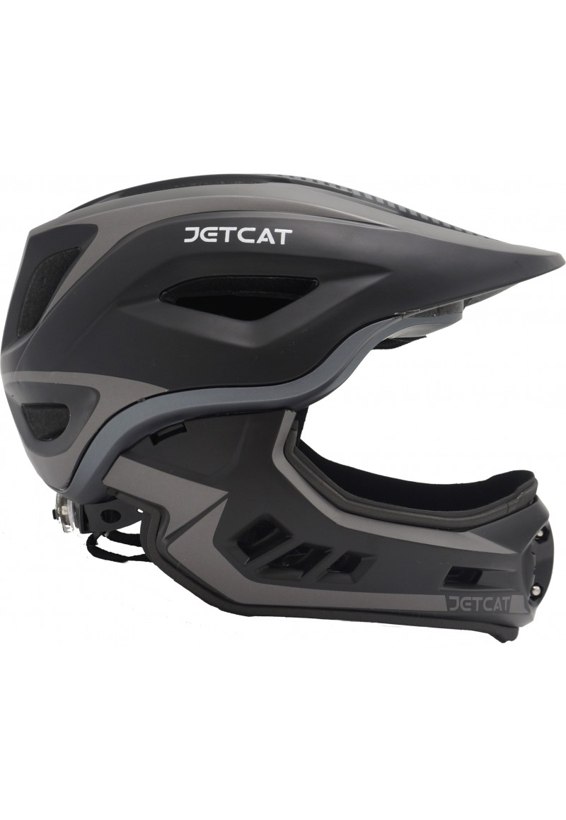 Шлем FullFace - Raptor (Black/Grey) -  Jet-Cat