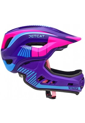 Шлем FullFace - Raptor (Pink/Purple/Blue) -  Jet-Cat